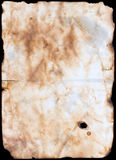 Old paper or parchment Stock Photography