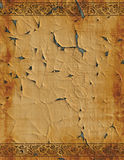 Old paper parchment design Royalty Free Stock Photo