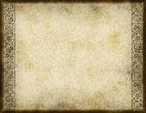Old paper parchment design Stock Photography