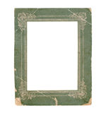 Old paper photo frame Royalty Free Stock Photos