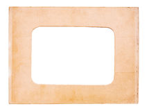 Old paper picture frame Royalty Free Stock Photo