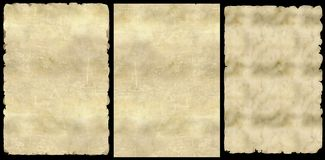 Old paper. (PNG) Royalty Free Stock Photos