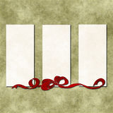 Old paper with ribbon. Grungy Background.old paper with ribbon and copy space. illustration vector illustration