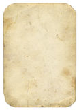 Old paper. With rounded corners- vintage background royalty free stock photos