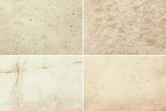 Old paper set. Set of old paper textures Royalty Free Stock Images