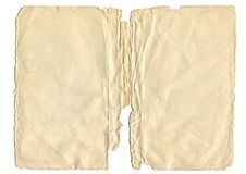 Free Old Paper Sheet Stock Photo - 111023750