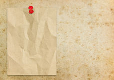 Old paper sheet Royalty Free Stock Images