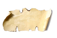 Old paper sheet Royalty Free Stock Image