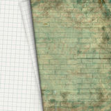 Old paper sheet on background of wall Royalty Free Stock Photo