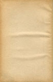 Old Paper Sheet. High resolution of blank paper Royalty Free Stock Images