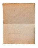 Old paper sheet Stock Image