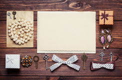 Old paper sheets Royalty Free Stock Photos