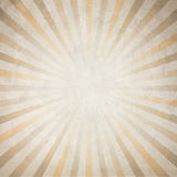 Old paper on sunrays background Royalty Free Stock Image