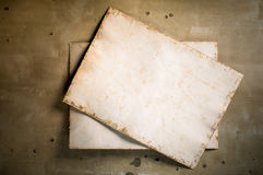 Old paper on the table Royalty Free Stock Photography
