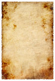 Old paper texture. Isolated in white stock illustration