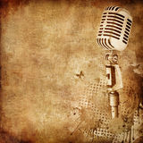 Old Paper Texture. Old Paper. Retro Music Texture Background. Vector royalty free illustration