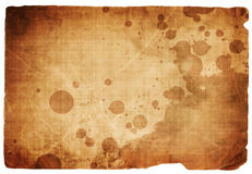 Old paper texture. With some stains Royalty Free Stock Photo