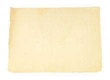 Free Old Paper Texture Stock Photography - 29108712