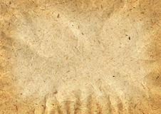 Old paper texture. Detailed texture of old crumpled paper Stock Images