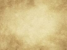 Old paper texture. Aged yellowed paper background. Rustic paper texture for the design royalty free stock image
