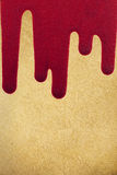 Old paper texture with  blood. Old paper texture with red blood Stock Photo
