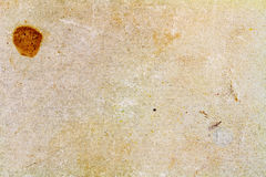 Old paper texture with brown stain. Abstract background Stock Photos