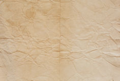 Old paper texture with crease lines Royalty Free Stock Photos