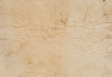 Old paper texture with fold lines Royalty Free Stock Photos