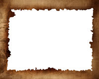 Old paper texture frame royalty free illustration