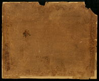 Old paper texture. Grunge old paper for treasure map or vintage. on a black background. Old paper texture with age marks. Old paper for treasure map or vintage Stock Images
