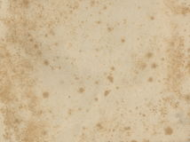 Old paper texture. Grunge old paper for treasure map or vintage. Stock Photography