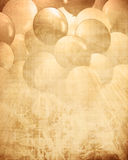 Old paper texture with integrated balloons Stock Image