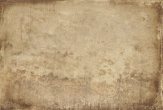 Old paper texture. Large blank old paper for background Stock Image