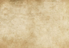 Old paper texture. Natural aging paper background for the design stock images