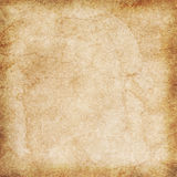 Old Paper Texture. The old stained beige vintage paper texture Stock Photography