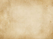 Old paper texture. Old stained and yellowed paper texture or background for the design stock illustration