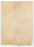 Old Paper texture. Old and torn Paper texture royalty free stock photography