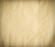 Old paper texture, vignette. royalty free stock photos