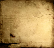 Old paper textures Stock Image