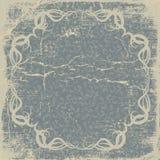 Old paper, vintage card. Old paper sheet  with vintage frame. Vector EPS 10 illustration Royalty Free Stock Images