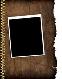 Old paper and vintage photo frame Royalty Free Stock Photography