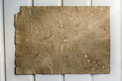 Old paper, white wood texture Royalty Free Stock Photo