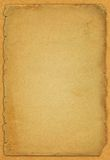 Old paper. Old yellowed paper - vintage background Royalty Free Stock Photos