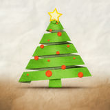 Old paperchristmas Stock Images