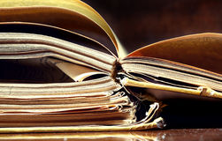 Old papers and books Royalty Free Stock Image
