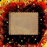 Old papers and grunge filmstrip Royalty Free Stock Images