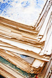 Old papers Royalty Free Stock Image