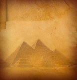 Old papyrus. Royalty Free Stock Images