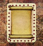 Old papyrus frame Royalty Free Stock Photography