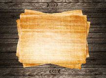 Old papyrus paper Stock Images